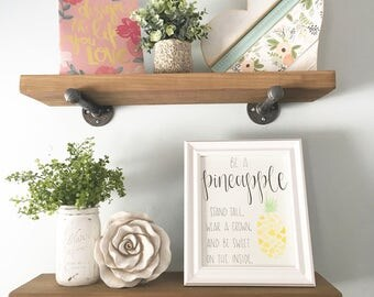 Be a Pineapple - Watercolor | Painting | Hand Painted | Original Painting | Nursery Art | Nursery Decor | Nursery Painting | Home Decor