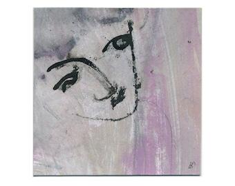 Face image 15 x 15 cm (5, 9 x 5, 9 inch)