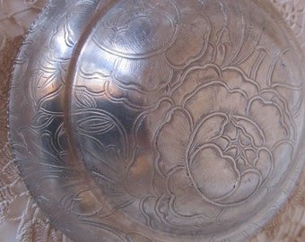 Hand Wrought Aluminum Bowl