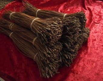 """1 pound of Florida Long leaf Pine Needles 7""""-10"""""""" for Basket Weaving, Coiling,Crafts"""