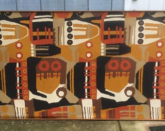 Mid Century Abstract Tapestry
