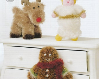 Tinsel Chunky Christmas Knitting Pattern