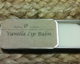 Handmade Organic Lip Balm - Vanilla