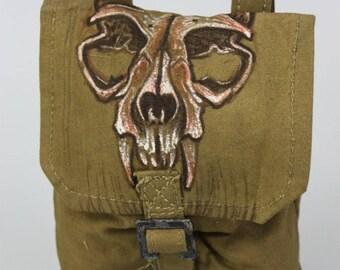 Iron Maiden Bag - Iron Maiden Accessories - Iron Maiden Belt Bag - Fear of The Dark Saschet - Gladiator Belt Accessories - Larp Bag, Cosplay