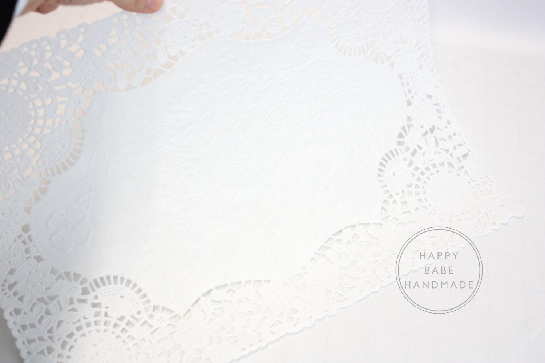 large paper doilies