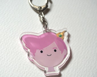 Adventure Time Prince Gumball acrylic charms