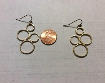 Vintage costume earrings bacn