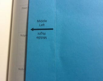 Directional Bookmark (top right, top left, middle right, middle left, bottom right, bottom left)