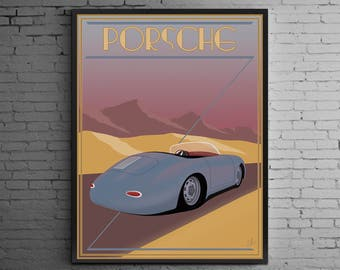 Timeless Excellence ( Porsche 356 Speedster art print )