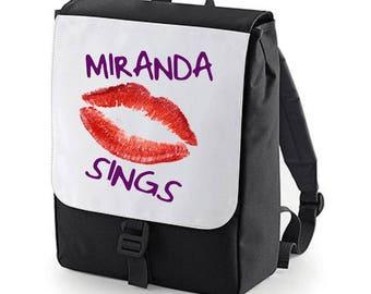 Miranda Sings Lips  Backpack perfect for school (Bagbase)