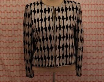 80s Embellished Black Jacket