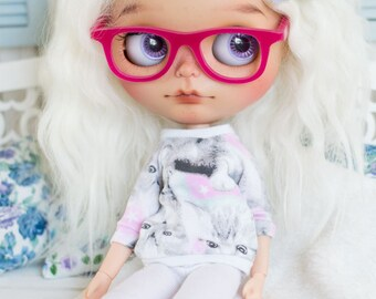 Blythe eyeglasses *Nerd* frames with glasses eyewear