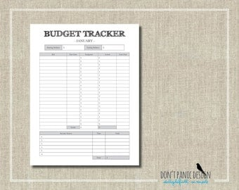 printable debt sheet etsy