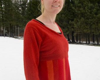 Upcycled, Repurposed, Katwise-inspired, Cashmere Tunic