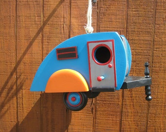 Teardrop Tear Drop Camper Birdhouse Trailer