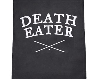 Death Eater Cloth Large Back Patch