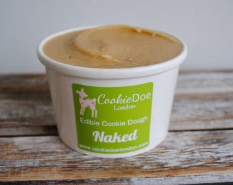 Naked Edible Cookie Dough Tub / Sweet Treat / Fun Unique Gift / Plain / Cookies /Party favours / Birthday / Occasion