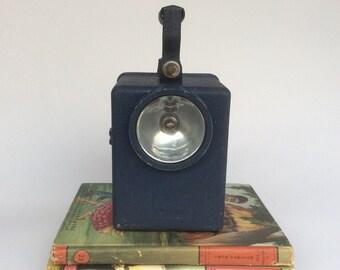 Vintage Wonder Railway Lamp, Railway Lantern, Steampunk Lamp, Vintage French Lamp, Metal Railway Lantern.