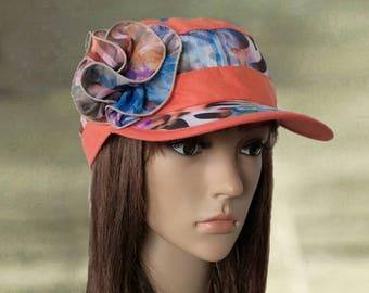 Summer cap visor, Visor suns hats, Linen summer hats, Sun newsboy cap, Linen hats visor, Cotton summer caps, Fabric visor caps, Suns hats