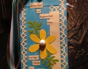 Wedding invitation Bookmarks
