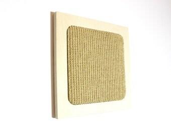 Cat Scratcher - Scratch Pad - Wall Hanger - Scandinavian Style Pet Furniture - Modern Cat - Sisal - Gift for a Pet Lover