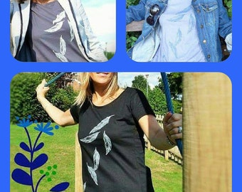 SALE - Gorgeous Feathers Womens TShirt - 3 Colours