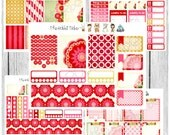 Freestyle Planning - Ruby Red Kit - planner stickers