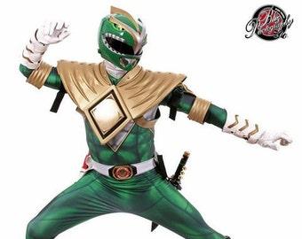 GREEN POWER RANGER bodysuit