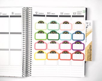16 Movie Marquee Stickers! Perfect for the Erin Condren Life Planner!