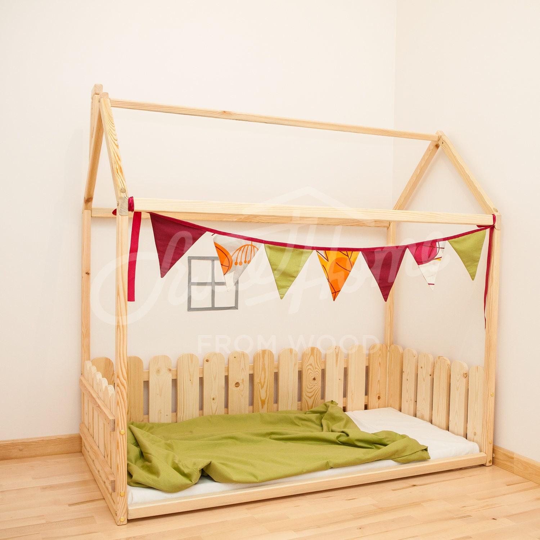 Toddler Bed Frame FULL DOUBLE Frame Bed Baby Room Kids