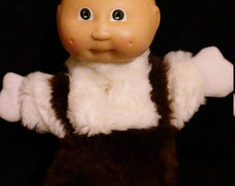 Vintage 1980s Rare CABBAGE Patch Kids Preemie Hand Puppet!!! Nice HTF Item!!!
