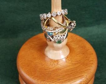 Holly & Sapele Ring holder