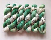 Sock Hand Dyed Australian 80/20 Merino nylon Revelry Sock Fingering 4 ply Knitting Yarn Shining Bronze Cuckoo