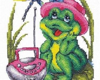Cross Stitch Kit My favorite song