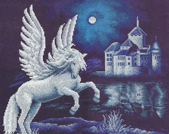 Cross Stitch Kit Pegasus