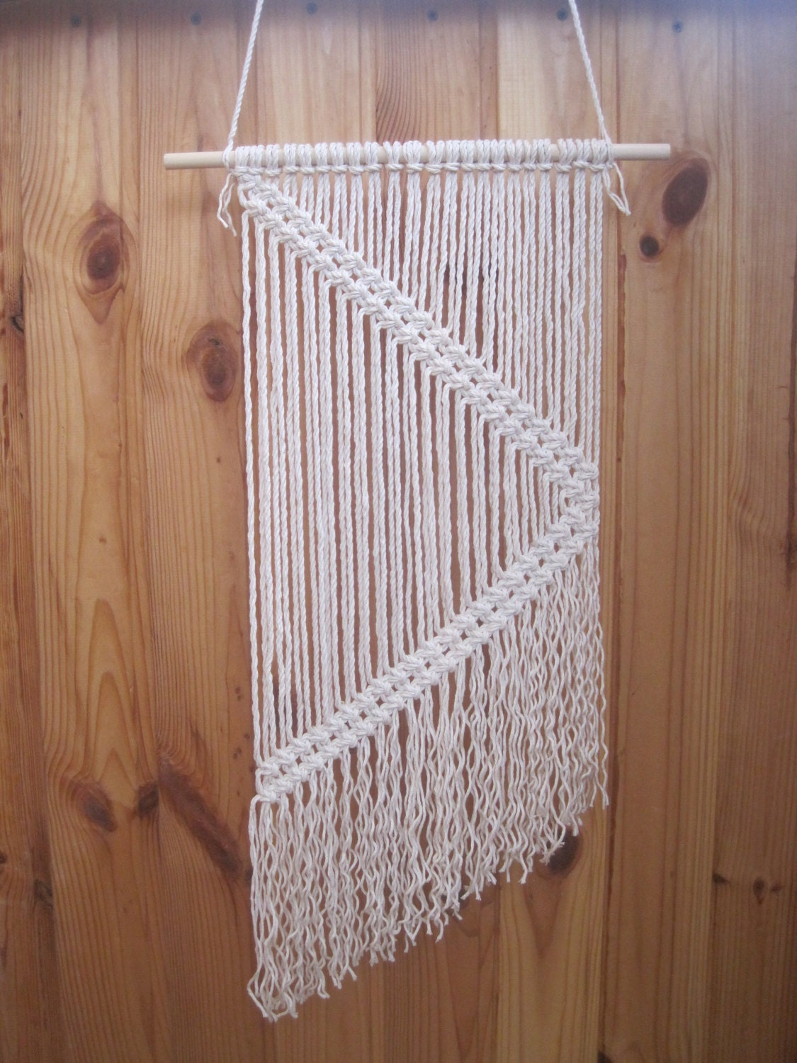 Macrame Wall Hanging Simple Macrame Wall Art Wall Decor