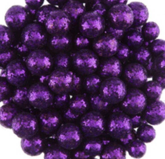 Purple Decorative Balls Interesting Purple Glitter Foam Balls Vase Fillers Decorative Balls Decorating Design