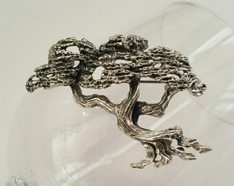 TORTALANI Bonsai Tree Pin