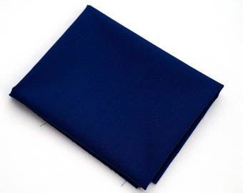 Cotton Quilt Fabric Midnight Couture Solid by Michael Miller - Deep Blue Solid Fabric