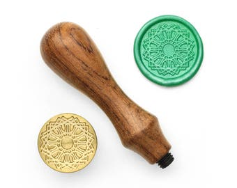Mandalas Pattern - 48 - Design OD Wax Seal Stamp (DODWS0360)