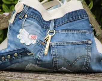 "Sac en toile et jean's. "" Made in France """