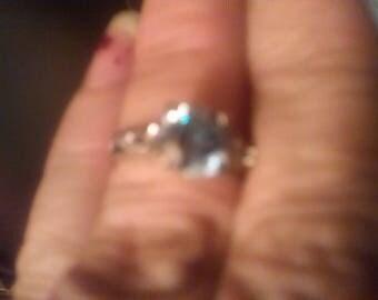 Clue diamond ring engagement beautiful nearly 1.5 ct
