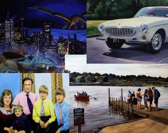 Custom Painting, Oil painting, Commission a painting, Commission an Artist, Special Occasion Gift, Gifts For men, Gifts for women