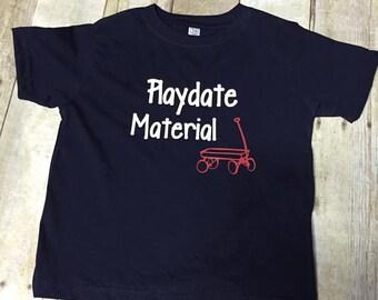 Playdate Material Kid's Shirt