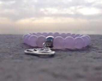 Jade Lavender bracelet (8mm beads)