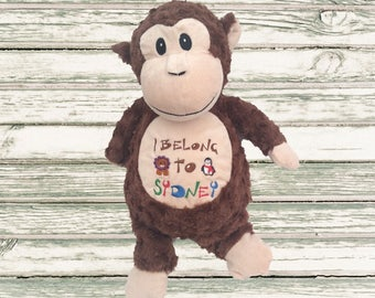 I Belong To - Personalised Cubbies - New Baby - personalised teddy - cuddly toy - soft toy- baby gift - baby toy - Cubby