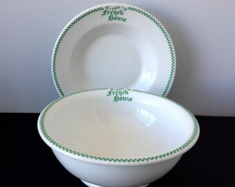 Set of 2 Wallace China Restaurant ware Bowls - The French House