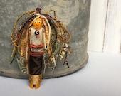 Angel Doll - Art Doll Angel - Worry Doll - Handmade Art Angel - Worry Dolls - Gift for Her - Folk Art Angel - Guardian Angel