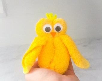 Wash Cloth Creation - Wash Cloth Chick - Baby Shower Favor - Chick Favors