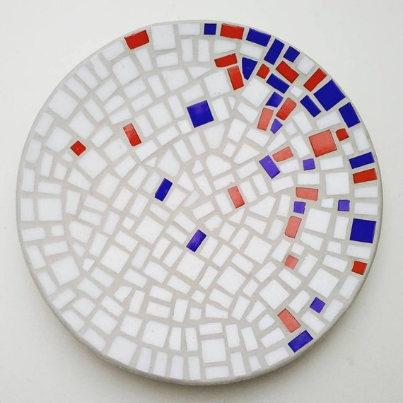 """Bamboo Mosaic Bowl """"Floating Concentration"""""""